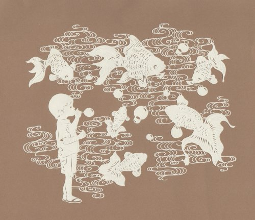 Изящные бумажные шедевры, созданные художницей Канако Абе (11 фото)