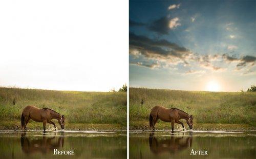 Фотограф превращает обычные снимки в фотошедевры (18 фото)