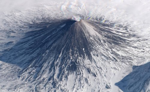Красоты Земли, какими вы их никогда ещё видели: наклонные спутниковые снимки, похожие на аэрофотографии, сделанные на высоте 450 км (17 фото)