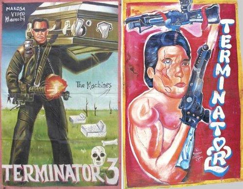 Самодельные африканские постеры к популярным фильмам (19 фото)
