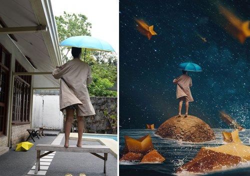 Сказочные миры Катрины Ю, созданные на заднем дворе (20 фото)