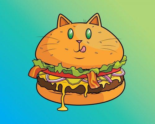 Когда больше всего на свете любишь еду и кошек (15 фото)