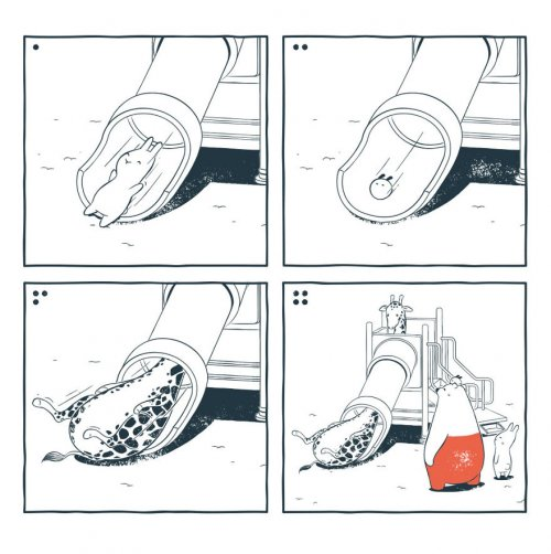 Комиксы про приключения Ту и Теда (17 шт)