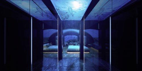 На мальдивском курорте откроется первая в мире подводная вилла (6 фото)