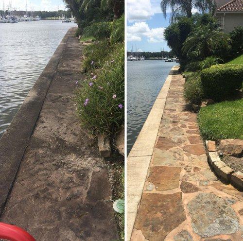 Объекты, места и предметы до и после очистки (31 фото)