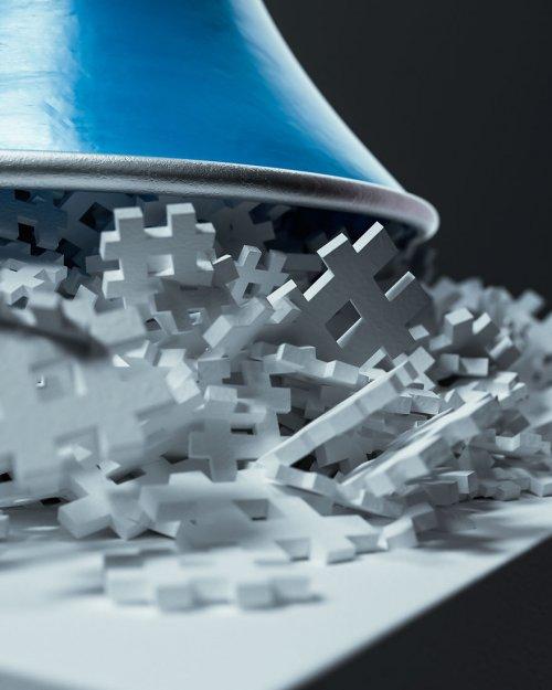 Концептуальные 3D-иллюстрации социальных медиа, подытоживающие их суть (12 фото)