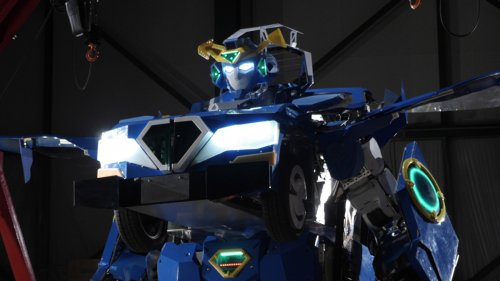 В Японии создали настоящего робота-трансформера (3 фото + 3 видео)
