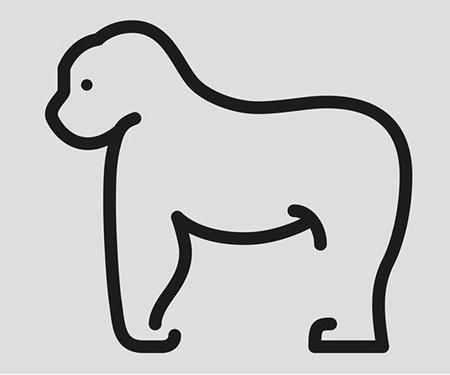 Пиктограммы животных от Яна Филека (20 фото)