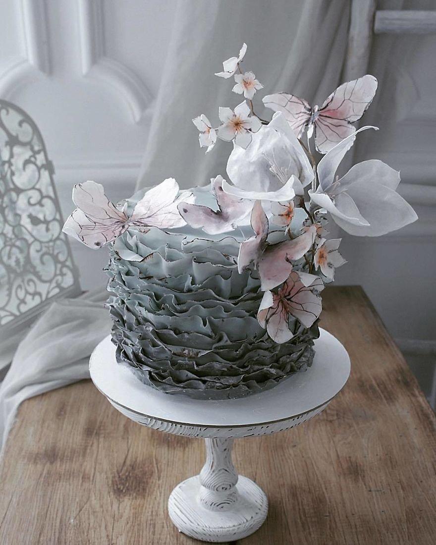 удивительный торт фото девченки, кто клеил