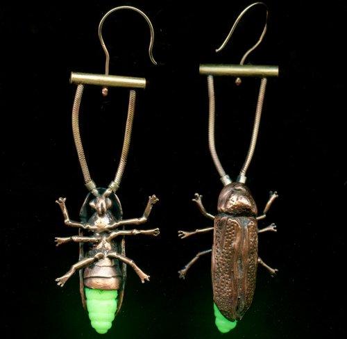 Ювелирные украшения для настоящих энтомологов (6 фото)