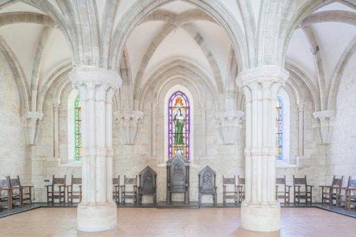 Величественные итальянские аббатства в фотографиях Федерико Скарчилли (13 фото)