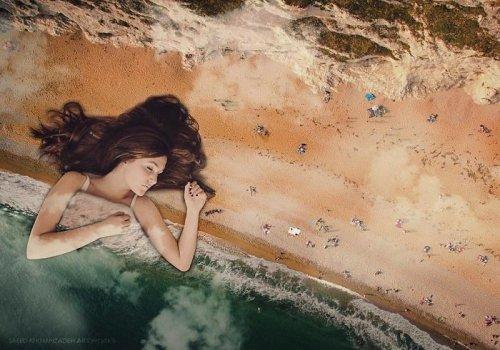 Реалистичные фотоманипуляции Саида Афхамзаде (25 фото)
