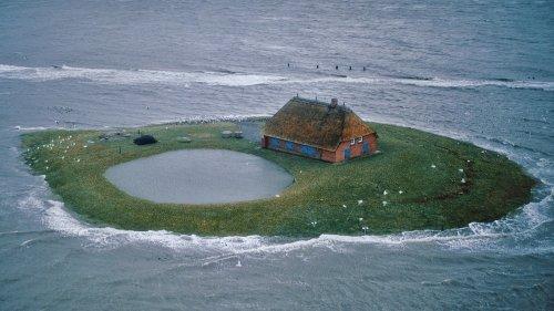 Забытые острова Ваттового моря (7 фото)