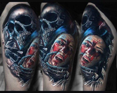 Реалистичные татуировки Элиота Коека (15 фото)