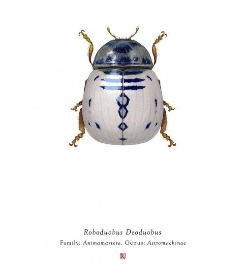"""Насекомые, вдохновлённые персонажами """"Звёздных войн"""", в иллюстрациях Ричарда Уилкинсона (10 фото)"""