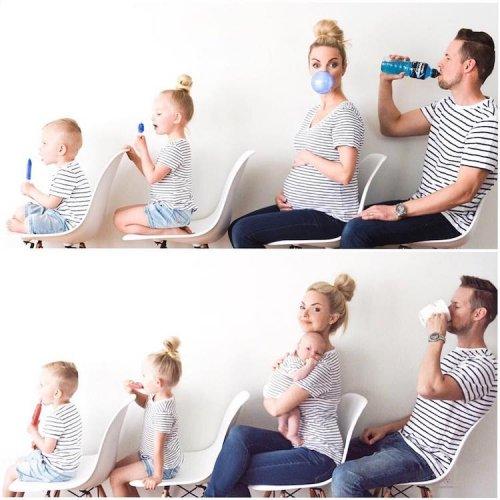 Креативная мама документирует повседневную жизнь с помощью очаровательных и забавных семейных фотографий (15 фото)