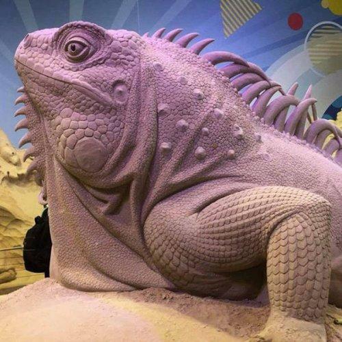 Потрясающие песочные скульптуры, которые вы должны увидеть (24 фото)