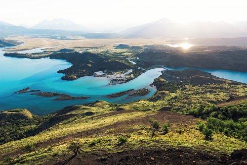 Потрясающие фотографии с пейзажами Патагонии через объектив Лукаса Фурлана (13 фото)