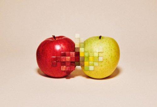 """Эти фотографии выглядят отфотошопленными, однако на самом деле """"пиксели"""" сделаны вручную (4 фото)"""