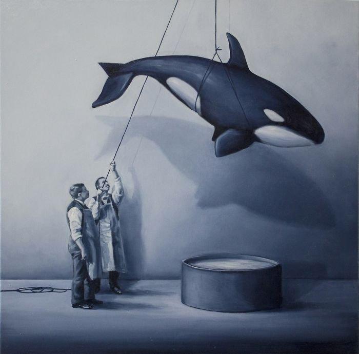 Сатирические иллюстрации, в которых художница анализирует человеческое