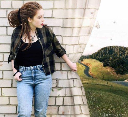 Сюрреалистические фотоманипуляции Александры Чертуловой (24 фото)