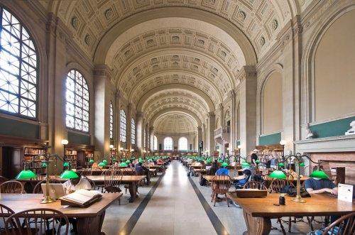 Величественные библиотеки мира через объектив фотографа Ричарда Силвера (19 фото)