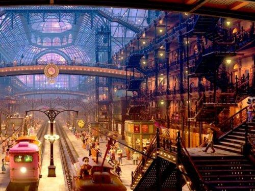 Реальные места, вдохновившие художников Pixar при создании мультфильмов (22 фото)