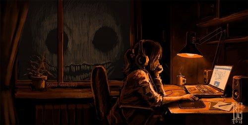 """""""Визуальная некромантия"""": атмосферный арт цифрового художника Бориса Гроха (25 фото)"""
