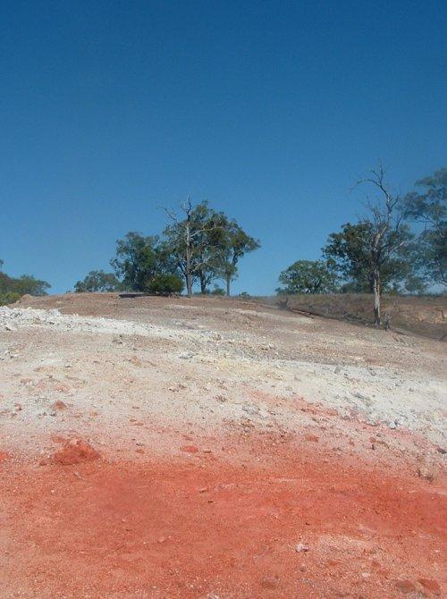 Горящая гора в Новом Южном Уэльсе (4 фото)