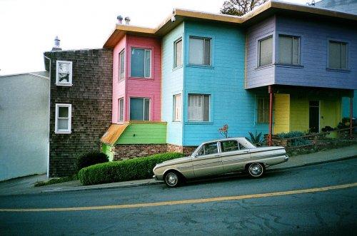 Сердце и душа Сан-Франциско в фотографиях Роберта Огилви (27 фото)
