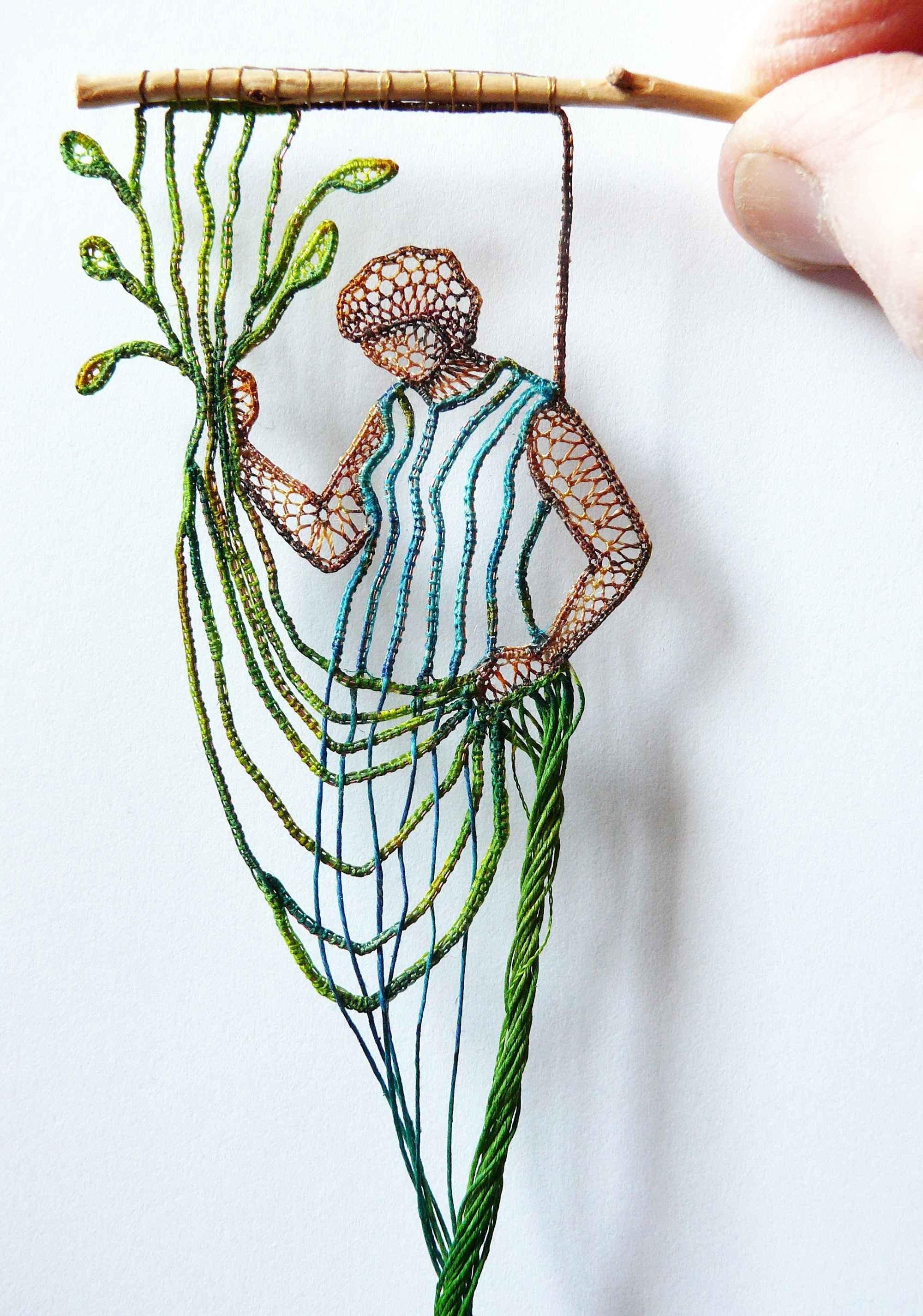 Новые кружевные творения Агнес Херцег (15 фото)