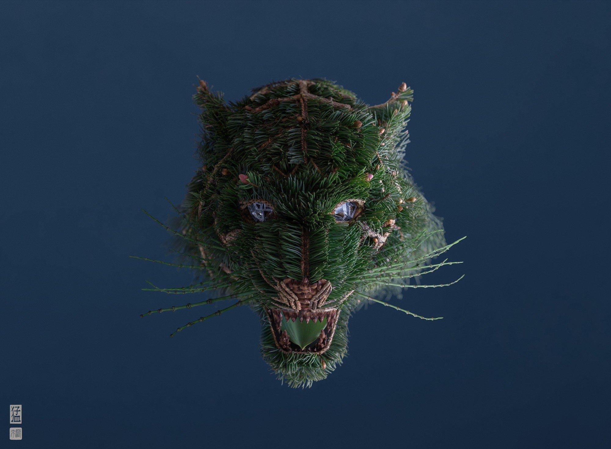 Новые природные насекомые Раку Иноуэ (15 фото)