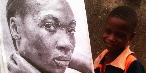 Гиперреалистичные рисунки 11-летнего художника из Нигерии (6 фото)