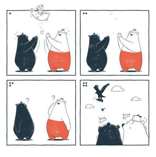 Новые забавные комиксы про приключения Ту и Теда (23 шт)
