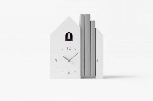 Необычные часы с кукушкой от дизайн-студии Nendo (9 фото)