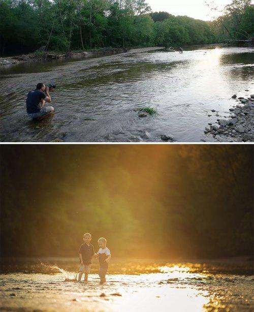 Одно и то же место глазами обычного человека и профессионального фотографа (16 фото)