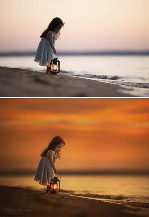 Фотохудожница показала фотографии до и после обработки в графическом редакторе (11 фото)