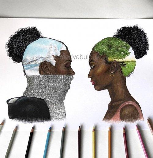 Иллюстрации, которые заставляют задуматься о разных типах людей (14 фото)