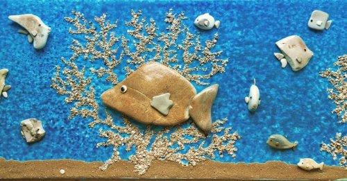 Удивительные каменные картины Стефано Фурлани (19 фото)