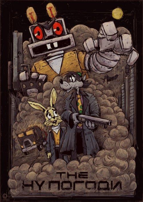 Постеры к советским мультфильмам от Богдана Тимченко (6 фото)