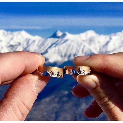Креативные обручальные кольца от RingStudio (23 фото)