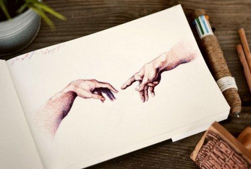 Впечатляющие рисунки Майка Кубоу, полностью созданные с помощью шариковой ручки (6 фото)