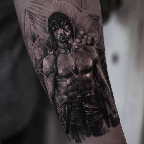 Фотореалистичные татуировки Айнала Берсекова (24 фото)