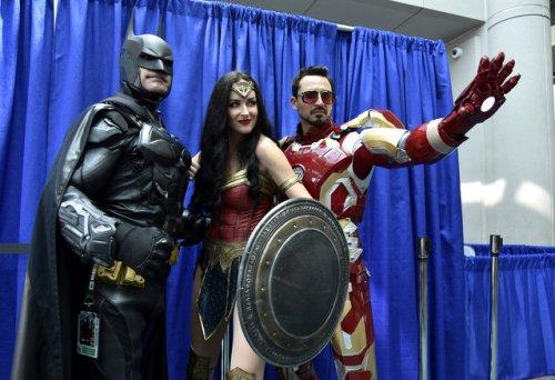 В Сан-Диего прошёл фестиваль любителей поп-культуры Comic-Con International (16 фото)