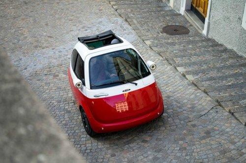На европейских улицах скоро появятся мини-электромобили Микролино (6 фото)
