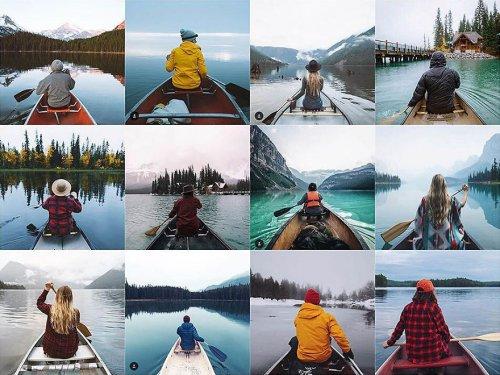 ИнстаПовтор: Instagram-аккаунт, высмеивающий однообразные фотографии (24 фото)