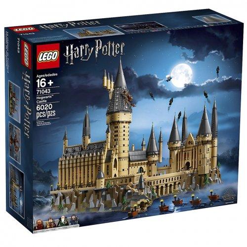 """Компания LEGO анонсировала выпуск своего второго по величине набора: замок Хогвартс из """"Гарри Поттера"""" (9 фото)"""