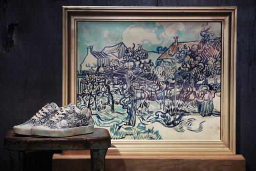 Ограниченная коллекция одежды и обуви, вдохновлённая картинами Ван Гога, поступит в продажу 3 августа (15 фото)