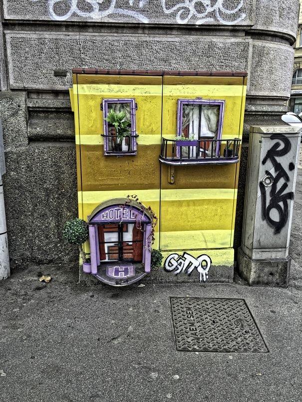 Случайные акты блестящего вандализма (21 фото)