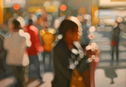 Мир глазами близоруких людей в картинах Филипа Барлоу (11 фото)